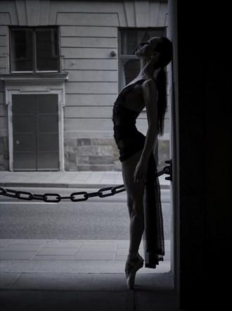 Silhouette Sensual Photo by Model Myrtha Meadows