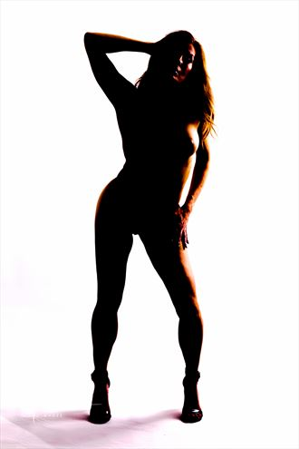 Silhouette Studio Lighting Photo by Model MPC