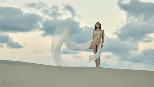 Silky Clouds Artistic Nude Photo by Photographer Rytter Photography