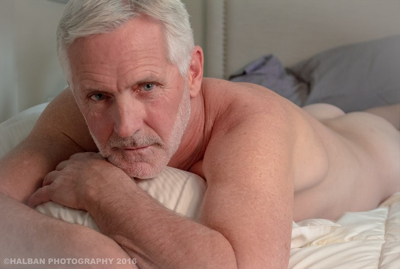 Silver Fox Artistic Nude Photo by Photographer Halban Photography