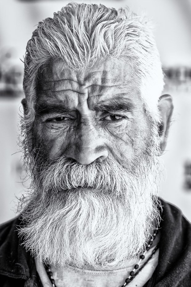 Silverfox of the Streets Portrait Photo by Photographer Utah Bohemian