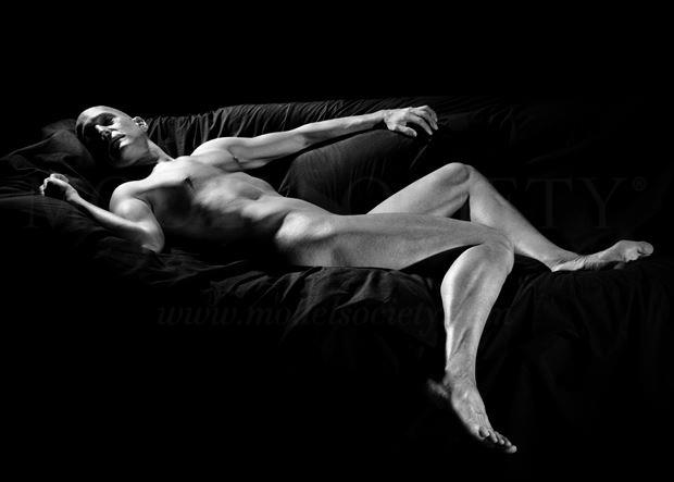 Silvery Artistic Nude Photo by Model Avid Light