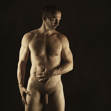 Simple Artistic Nude Photo by Model Ben