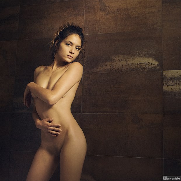 Simple nude Artistic Nude Photo by Photographer Francois Benveniste