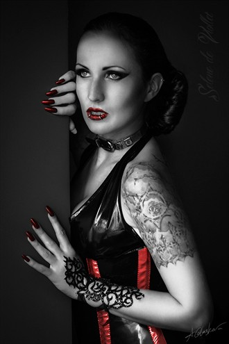 Sin City Tattoos Photo by Model Selene de Viollet