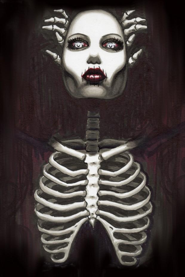 Sinister Fantasy Artwork by Artist Shayne of the Dead