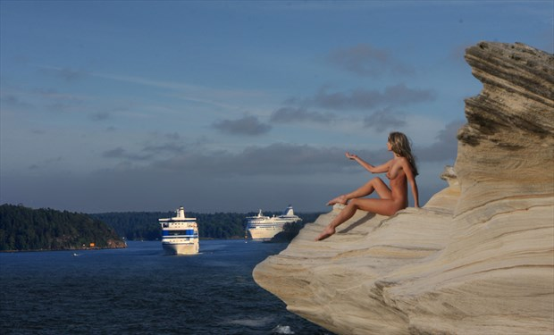 Siren, Luring the Ships to the Rocks Nature Photo by Photographer aube antigua