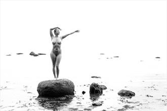 Siren Artistic Nude Artwork by Model Vera May