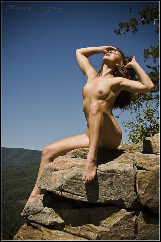 Sittin on Top of the World Artistic Nude Photo by Photographer Magicc Imagery