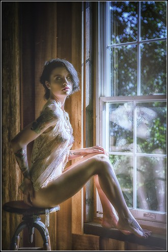 Sitting at the Window Artistic Nude Photo by Photographer Magicc Imagery