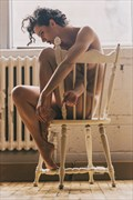 Sitting on Chair Artistic Nude Photo by Photographer Stef D