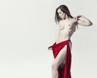 Skin As Pale As Snow Artistic Nude Photo by Model Cassie Jade