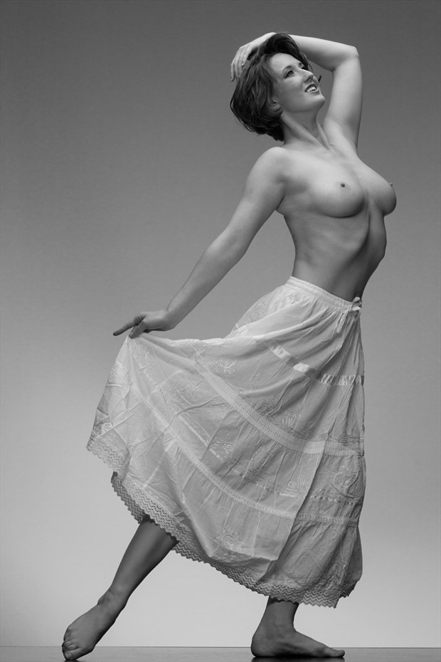 Skirted NYMPH Artistic Nude Photo by Photographer Eric212