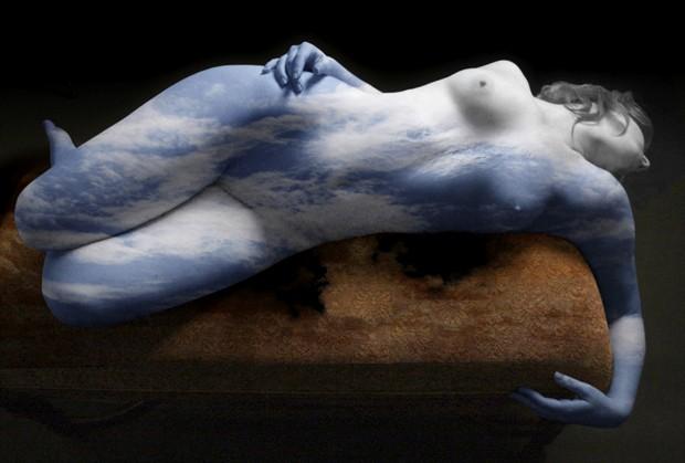 Sky Artistic Nude Photo by Artist David Bollt