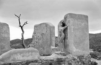 Skyward Artistic Nude Artwork by Photographer Thom Peters Photog