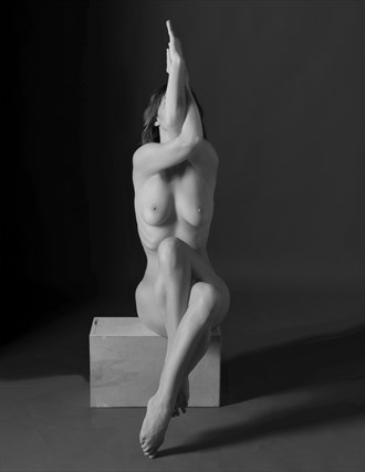 Skyward Artistic Nude Photo by Photographer Philip Turner