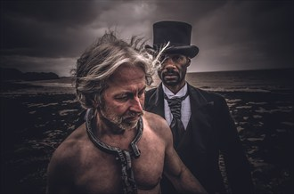 Slavery   Role Reversal Expressive Portrait Photo by Model Horace Silver