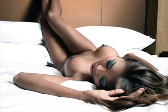 Sleep Like An Angel Will Sleep Artistic Nude Photo by Photographer J Boyle Ikon Visuals