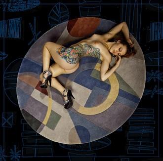 Sleeping Beauty Artistic Nude Photo by Model Amanda Morales