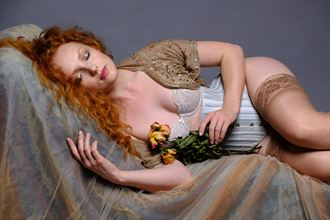 Sleeping Beauty Lingerie Photo by Photographer BenedictPeet