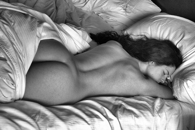 Sleeping Beauty...Kelsey Artistic Nude Photo by Photographer pblieden