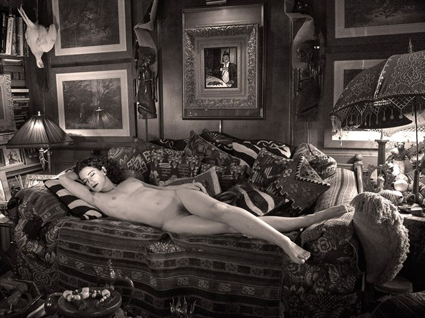 Sleeping Odalisque Artistic Nude Photo by Photographer Miguel Soler Roig