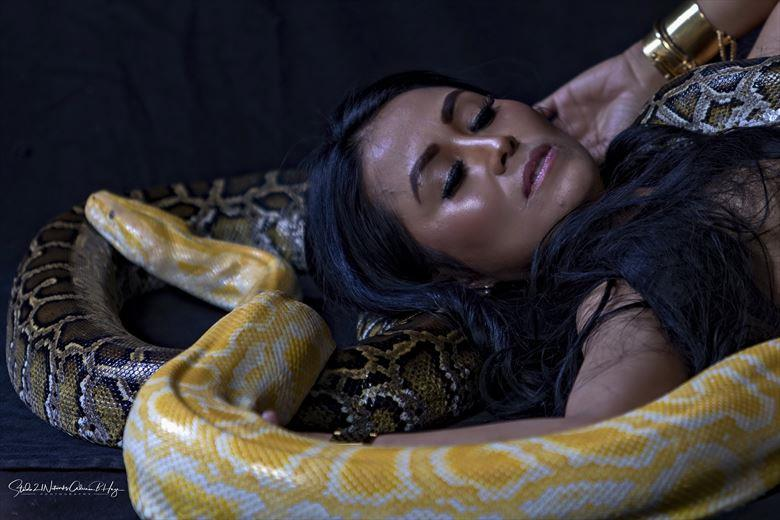 Sleeping with snakes Artistic Nude Photo by Photographer Studio21networks