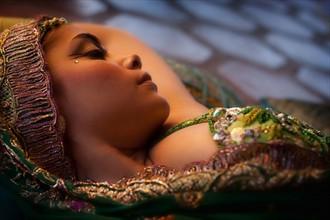 Slepping Beauty Sensual Photo by Photographer Rafael Mesa