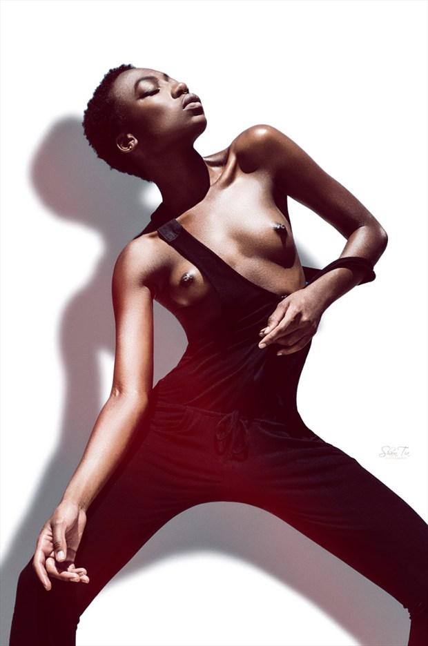 Slip Vintage Style Photo by Model Shaun Tia
