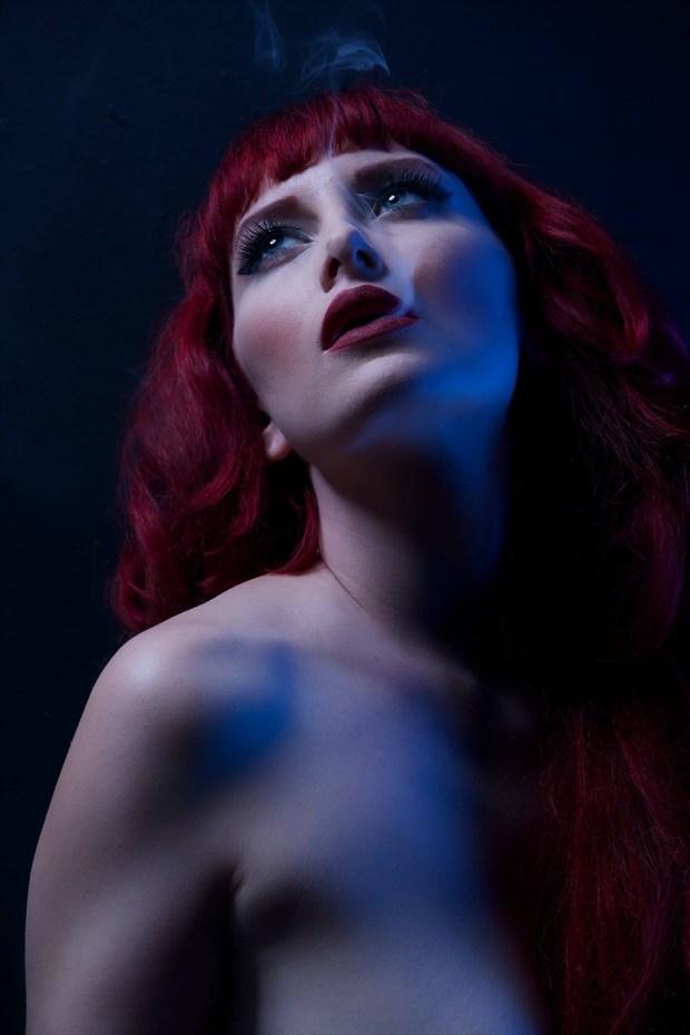 Smoke  Retro Photo by Model Cat Ropo