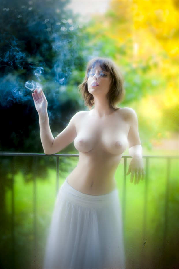 Smoke Artistic Nude Photo by Photographer Ron Vargas