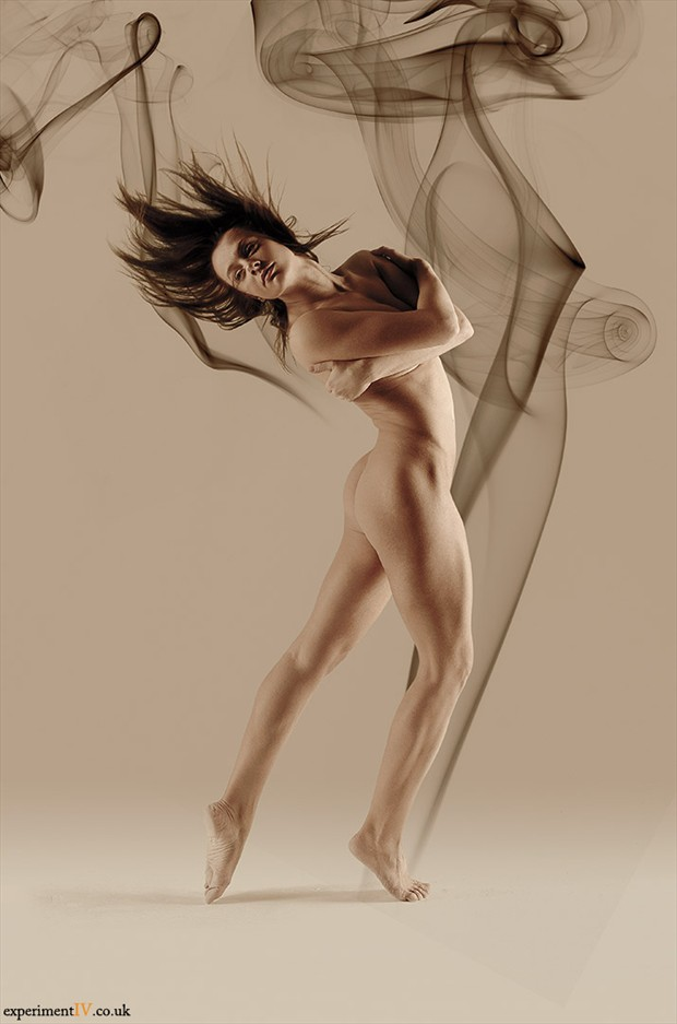 Smoke Dancer 2 Artistic Nude Photo by Photographer Terry King