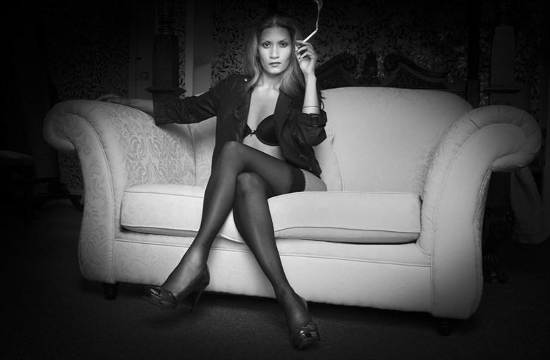 Smoking Lingerie Photo by Photographer photosbyjimmyp