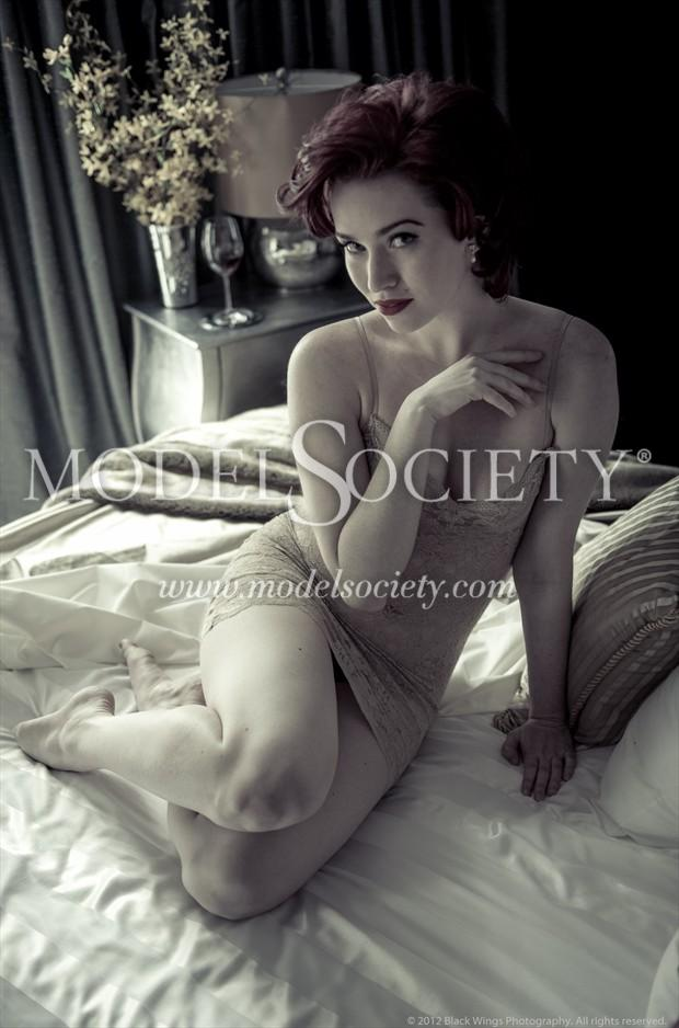 Snakecharmer Vintage Style Photo by Photographer Black Wings