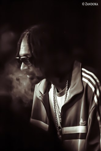 Snoop Dog in Amsterdam Candid Photo by Photographer ZANDOKA