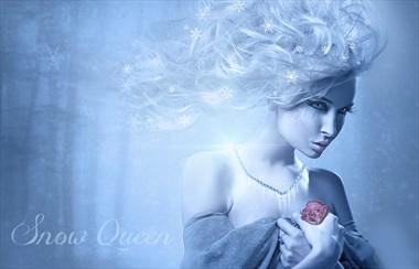 Snow Queen Fantasy Artwork by Artist ImaginaryRosse