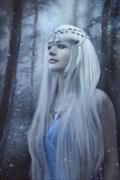 Snow Queen Fantasy Artwork by Artist phatpuppyart