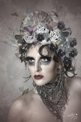 Snow Queen Photo Manipulation Artwork by Photographer Mark Davy Jones