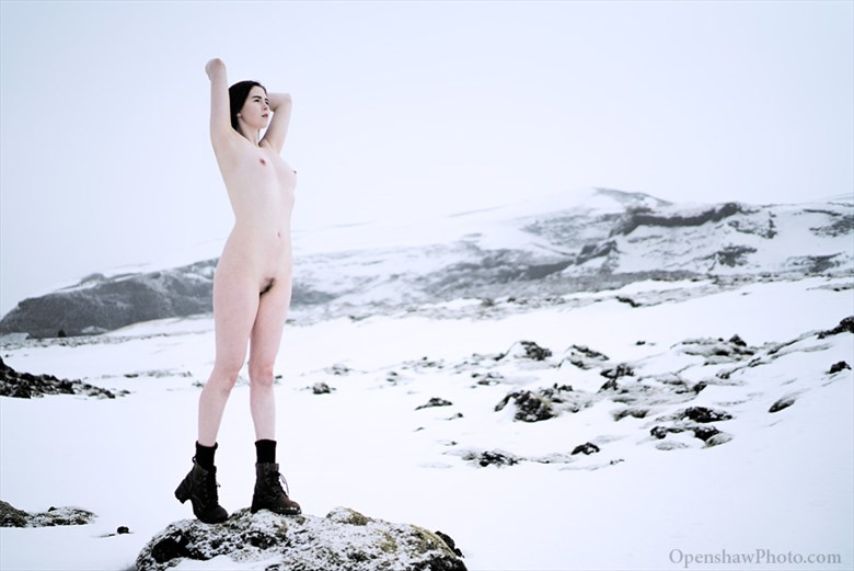 Snow White  Artistic Nude Photo by Model Johannsdottir