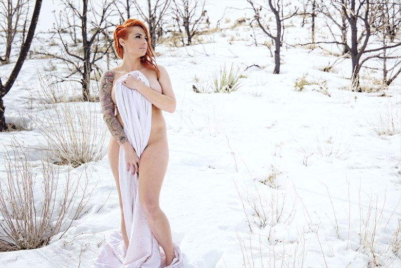 Snowy White Sheet Tattoos Photo by Photographer Barry Gallegos