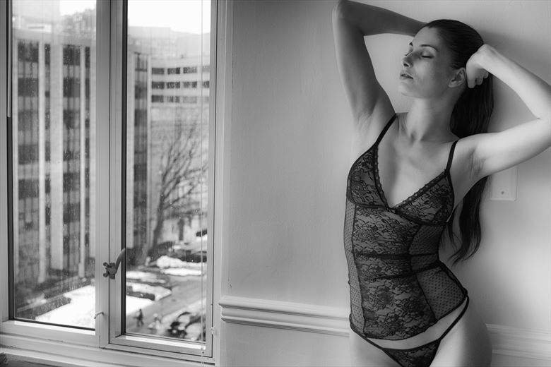 Snowy morning Lingerie Photo by Photographer Santo