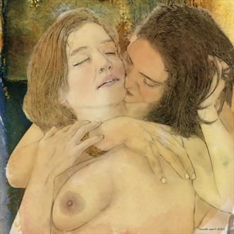 Snuggles Erotic Artwork by Artist ianwh