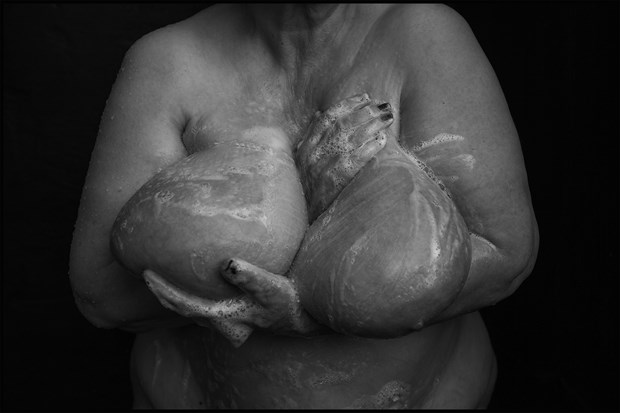 Soapy breasts plenitude... Artistic Nude Photo by Photographer MHMSchreiber.photo