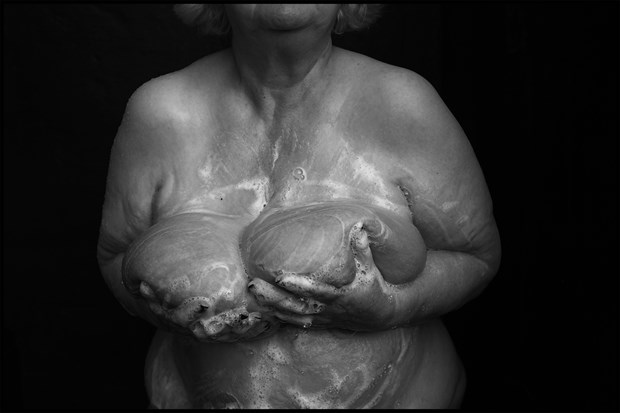 Soapy breasts2 Artistic Nude Photo by Photographer MHMSchreiber.photo