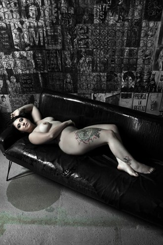 Sofa Body Stories Artistic Nude Photo by Model Pocket Girl