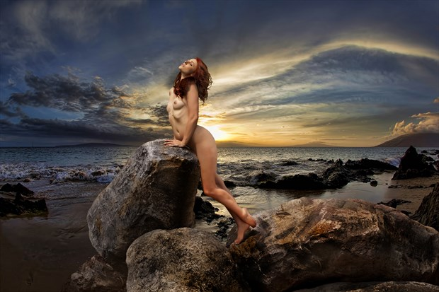 Soft Breezes Blow Artistic Nude Photo by Photographer milchuk