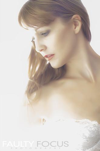 Soft Focus Expressive Portrait Artwork by Model Ali Hanney