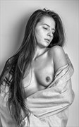 Soft Shoulder   Mono Artistic Nude Photo by Photographer rick jolson