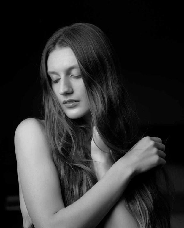 Soft touch Sensual Photo by Model Satine Lynn