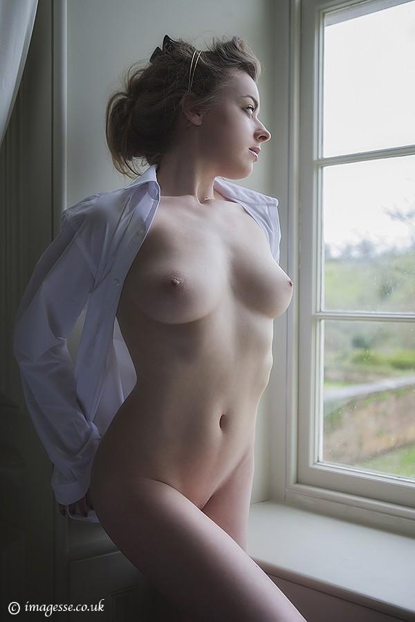 Someday Soon Artistic Nude Artwork by Model Rosa Brighid
